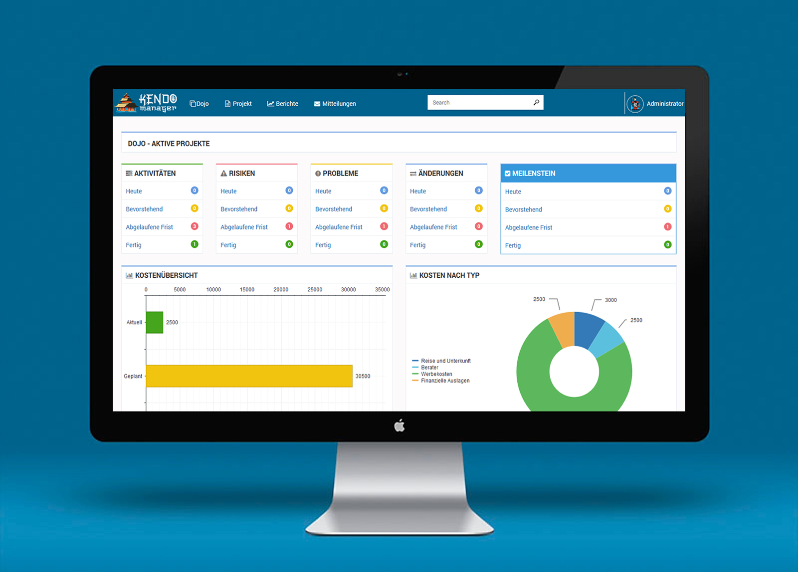 Kendo Manager projektmanagement-software