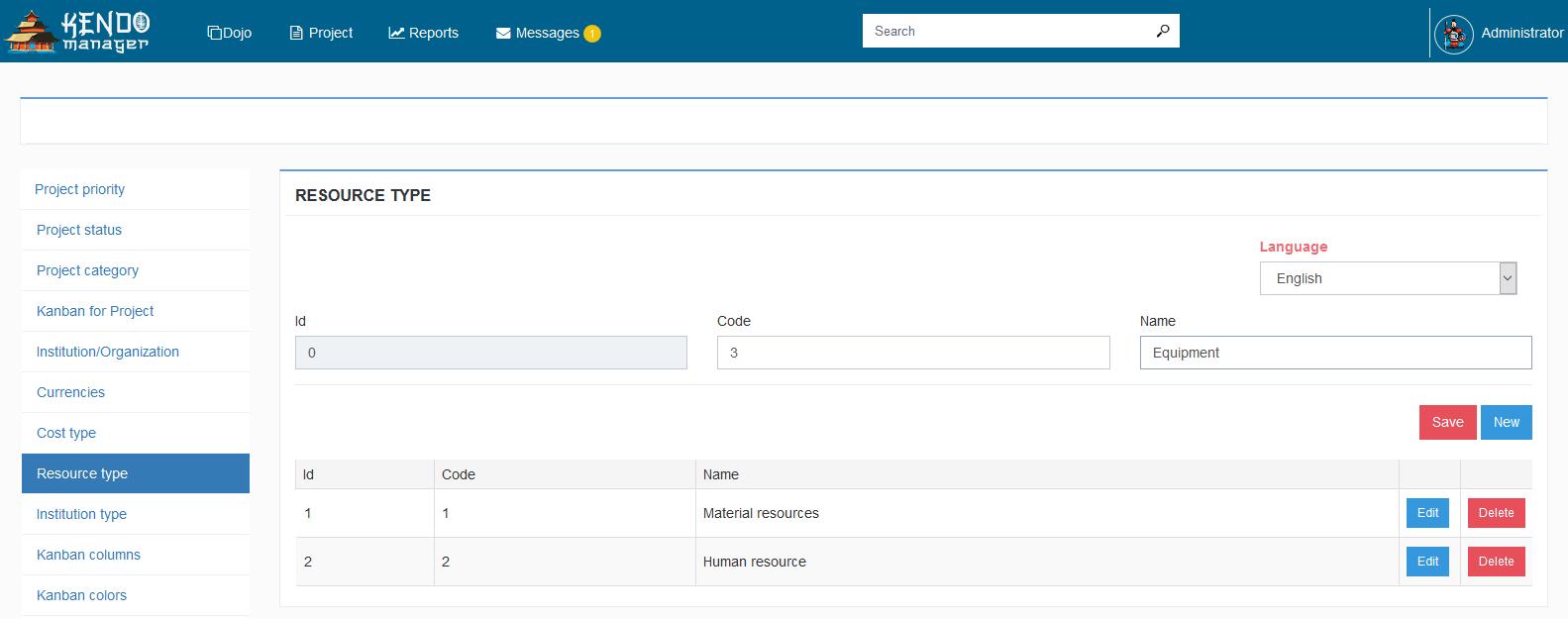Virtual Resources Manual